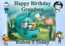 personalised birthday card Octonauts any name/age/relation.