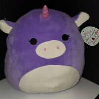 """Squishmallow Astrid the Unicorn 16"""" Huge NWT plush toy Squishmallows by Kellytoy"""