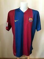 FC Barcelona 2006/2007 home 2XL Nike shirt jersey football maillot soccer Barca