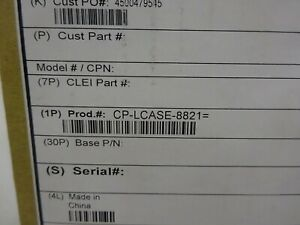 CISCO CP-LCASE-8821, x5 LEATHER CASES FOR CP-8821-K9.