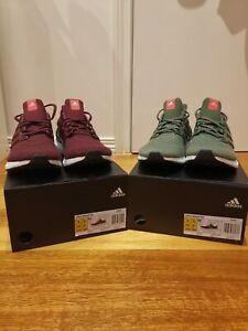 ULTRA BOOST LTD MAROON & BASE GREEN
