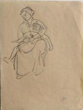 René Seyssaud (1867-1952) Portrait -P13V-