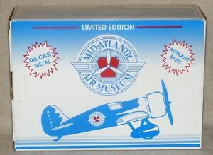 1992 Mid-Atlantic Air Museum Diecast Bank 1/32 Scale 1929 Travel Air Model R