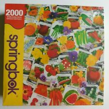 Springbok 2000 Piece Puzzle - Packets of Promise - Sealed, Box/Wrap Damage