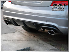 C63 Look Carbon Fiber Bumper Diffuser For 2008-2011 W204 C300 C350 C63AMG Sedan