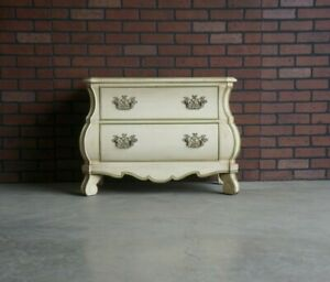 Chairside Chest ~ Chest ~ French Provincial Chest ~ Nightstand ~ Bedside Chest
