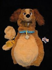 NWT Disney Store Lady and the Tramp Dog Plush Halloween Costume Baby 6-12M