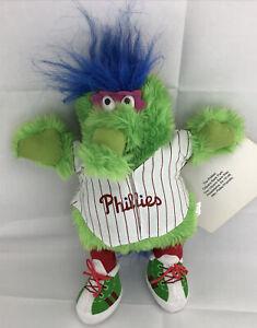 "13"" PHILADELPHIA Phillies MLB Phillie Phanatic Mascot BASEBALL Plush Toy Doll"