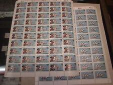 Bund 11172+1173 je Bogen komplett postfrisch Sport 1983 Turnfest Fünfkampf WM