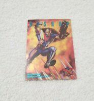 """1995 Fleer Ultra Marvel Sinister Observations Limited Edition #2 """"Bishop"""" NM"""