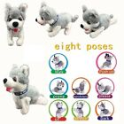 Toy Puppy   Battery Operated Walking  Tail Wagging Plush Dog - Colors May Vary