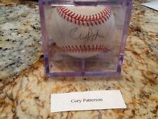 Cory Patterson autograph baseball