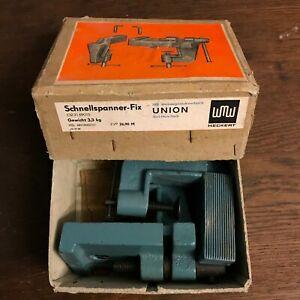 Schnellspanner-Fix | VEB Werkzeugmaschinenfabrik | DDR | 3,3kg | UNION | Heckert