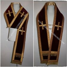 Orthodox Bishop Vestment Omophors German Velvet set of two