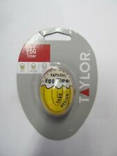 Taylor TYTIM60PEWT Egg Timer with Long Ring Plastic