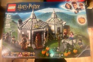 LEGO 75947 Harry Potter Hagrid's Hut: Buckbeak's Rescue 496 Pcs Brand New Sealed