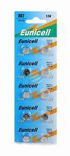 Eunicell set of 10 alkaline batteries AG7 G7 LR927,395 1.55V