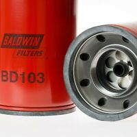 QTY 2  BALDWIN FILTERS BD103 Oil Filter,Spin-On,Dual-Flow