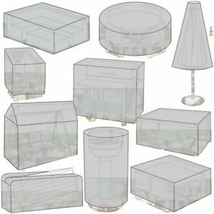 Large Protective Outdoor Assorted Waterproof Covers For Furniture Garden Medium