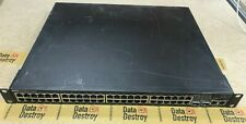 Dell PowerConnect 3548P 48-Port 10/100 Managed PoE Ethernet Switch ( 0N499K )