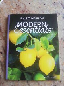 Einleitung in die MODERN Essentials, Heft ätherische Öle Verwendung, Rezepte NEU