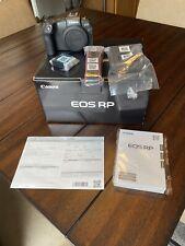 Canon EOS RP 26.2 MP Digital SLR Camera - Black