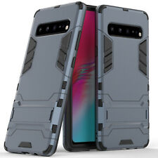 For Samsung Galaxy S10 5G Case Rubber Robot Armor Hard Back Phone Cover Case