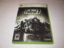 Fallout 3 (Microsoft Xbox 360) Original Release Game Complete Excellent!