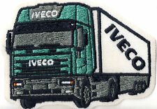 IVECO TRUCK CAMION patch ricamate aufbügler Trucker Nuovo