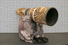 Large Unfilled Double Waterproof Camera Bean Bag True Timber HTC Camo 500D