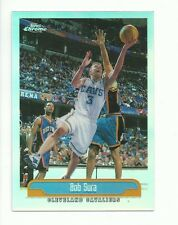 1999-2000 TOPPS CHROME BASKETBALL #194 BOB SURA REFRACTOR - NM TO MINT
