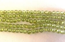 Peridot, Lovely Little Smooth Round 2.5-3mm Beads, Good Clarity, Bag of 30 beads