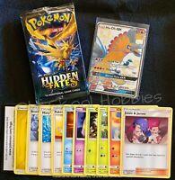 Pokemon TCG Hidden Fates 11 Card Lot! Guaranteed Holo + Rare! Mint Condition!