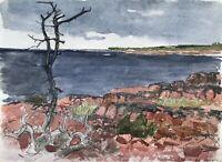 Karl Adser 1912-1995 Åland Eckerö Ostsee Küste Finnland Skandinavien