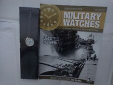 Eaglemoss Military Watches-AMERICANA DEL MARINAIO ANNI 1940 WW2 US Watch edizione 97 USATO