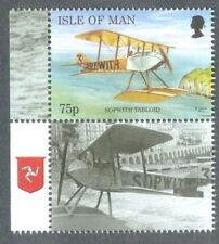 Isle of Man-2014 New 75p value-Sopwith Tabloid Aviation-Schneider Trophy-mnh