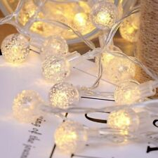 Wedding Bubble Ball Lights LED Crystal Garlands USB/Battery Powered Multi Colors