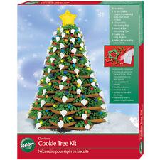 Wilton Hacer Su Propio Navidad Cortadores De Galleta árbol de 3D 10 3 bolsas y 2 Puntas Glaseado