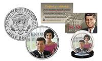 President KENNEDY JFK 100 Birthday 2017 Official JFK Half Dollar Coin w/Jackie O