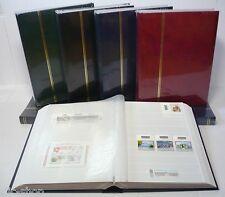 1 CLASSIFICATORE RACCOGLITORE FORMATO LIBRO 16 FACCIATE BIANCHE COPERTINA NERA