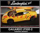 1/43 - Lamborghini Collection 50° : GALLARDO LP 550-2 Baldoni [ 2009 ] Die-cast