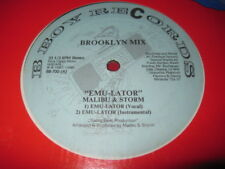 "MALIBU & STORM 12""  EMU-LATOR  BROOKLYN MIX - HIP HOP"