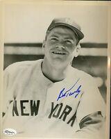 Bob Turley Yankees Signed Jsa Cert Sticker Authentic Autograph