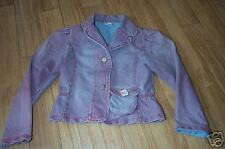 CAKEWALK lila Jeansblazer washed out Gr. 116 o. 140 NEU