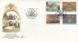 RSA2121) South Africa Commemorative FDC, 1985.05.15, the Parliamentary Building