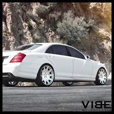 """20"""" MRR HR3 CHROME CONCAVE VIP WHEELS RIMS FITS MERCEDES W221 S550 S63"""