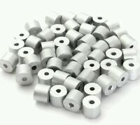 """Aluminum Swage Stops for 3/32"""" Wire Rope Cable: 100, 200, 500 and 1000 pcs"""