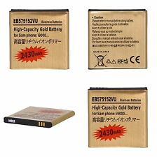 Samsung Galaxy S i9000 Akku Gold Battery Accu KEIN NEUER AKKUDECKEL NÖTIG! NEU