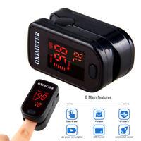Finger Fingertip Pulsoximeter SPO2 OLED Blutsauerstoffmessgerät Pulsmesser