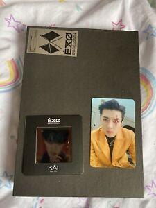 exo obsession album X-exo Version Sehun Poster And Photocard, Kai Card